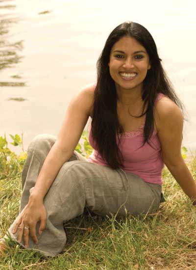 Samia Rani - relaxing in nature